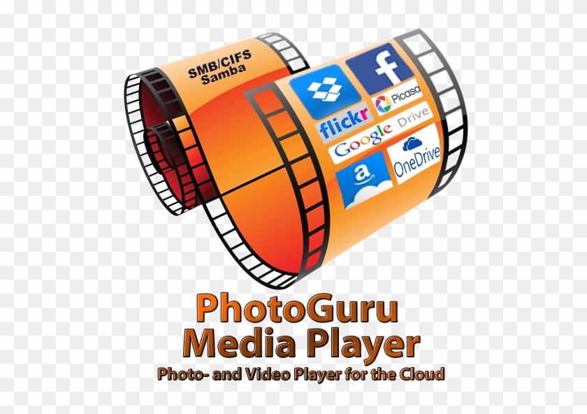 Photoguru Media Player - Flickr Icon - Free Transparent PNG