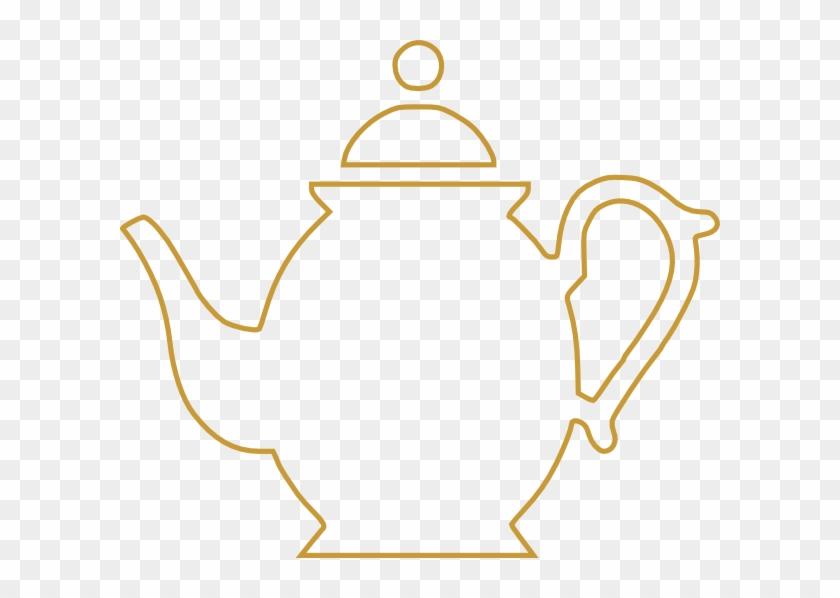 Teapot Clip Art - Tea Pot Line Art #156262