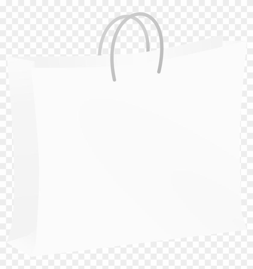 Bag - White Shopping Bag Clipart #156268