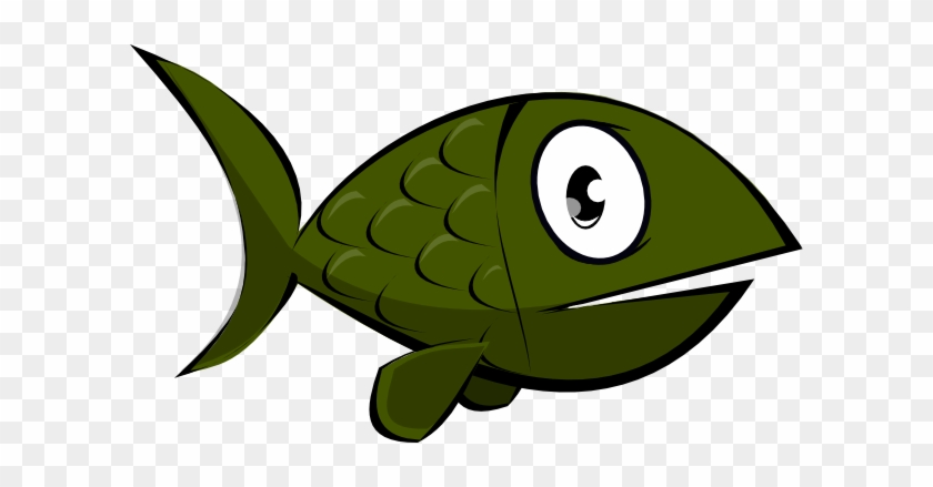 Sea Creatures Images Free For Commercial Use Page - Green Fish Clip Art #156582