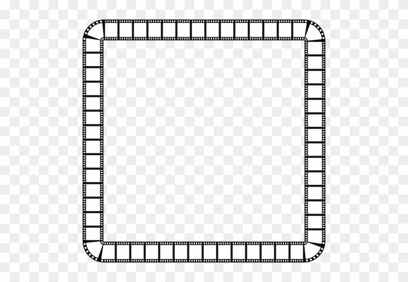 1057 Rahmen Kostenlose Clipart Public - Square Frame Black And White ...