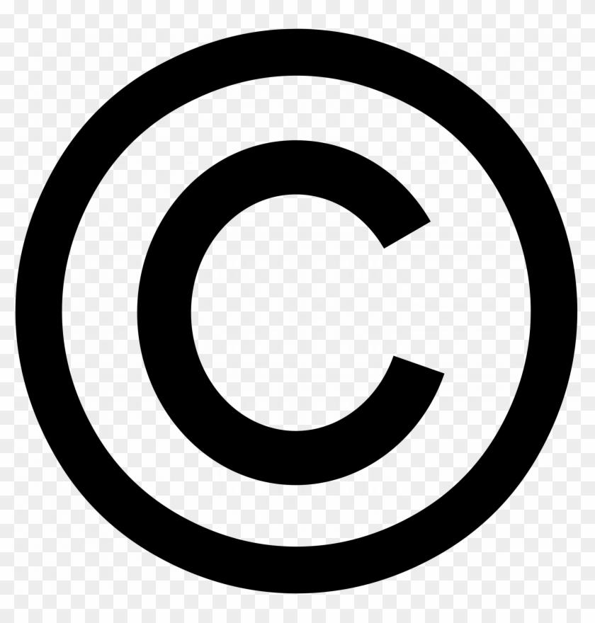 Copyright - Logo Copyright Png #156745