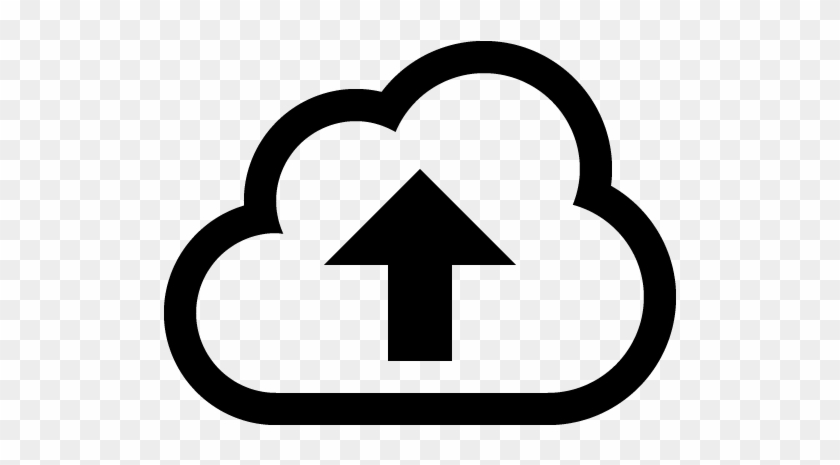 Upload Icon Clip Art - Cloud Download Icon Png #156920