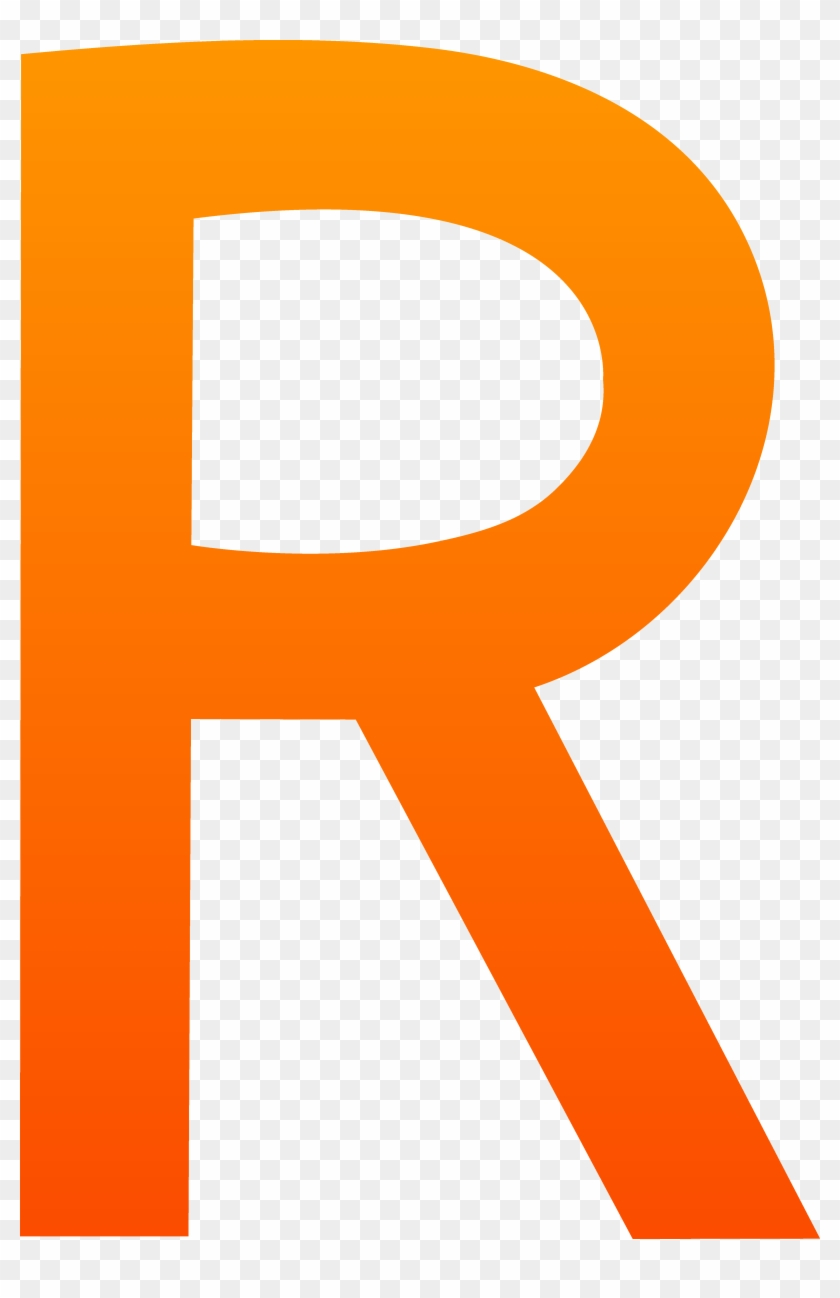 Letter R Rated Clip - Clip Art Free Letter R #157424