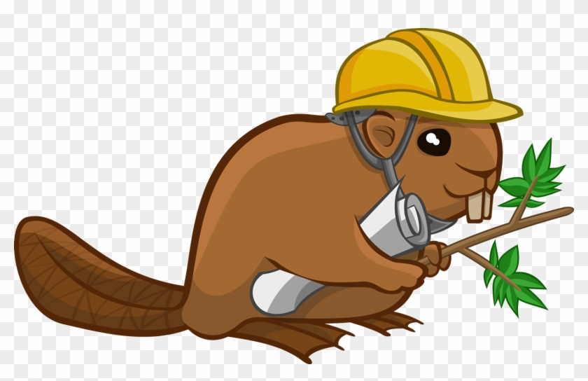 Top 77 Beaver Clip Art - Beaver With Hard Hat #157656