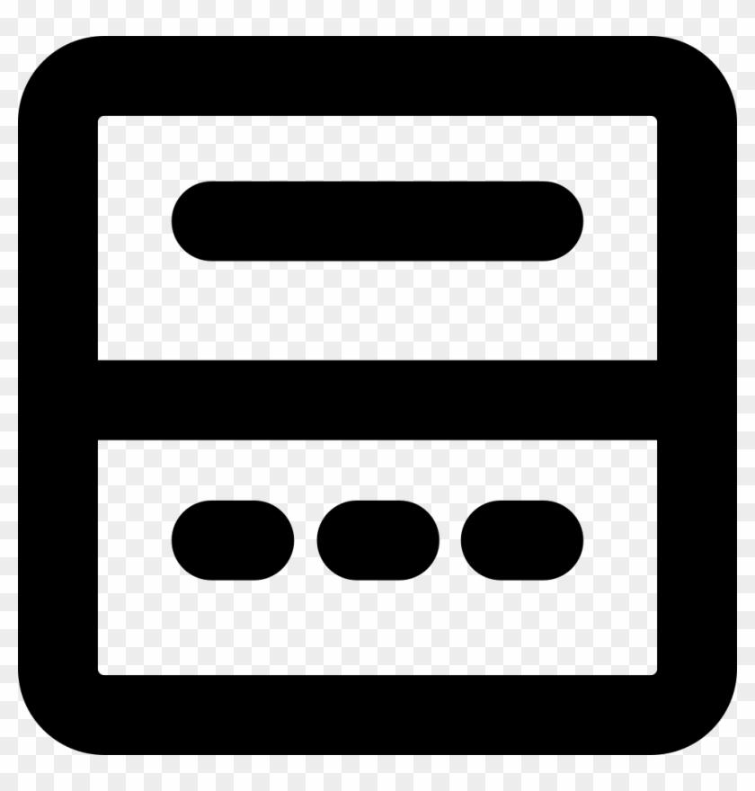 Png File - Menu Button Png Logo #158002
