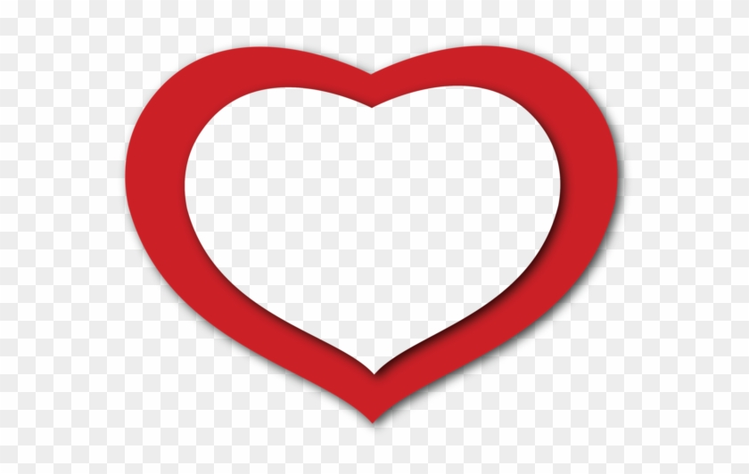 Transparent Red Heart Png Clipart - Red Heart Images Free Download #158272