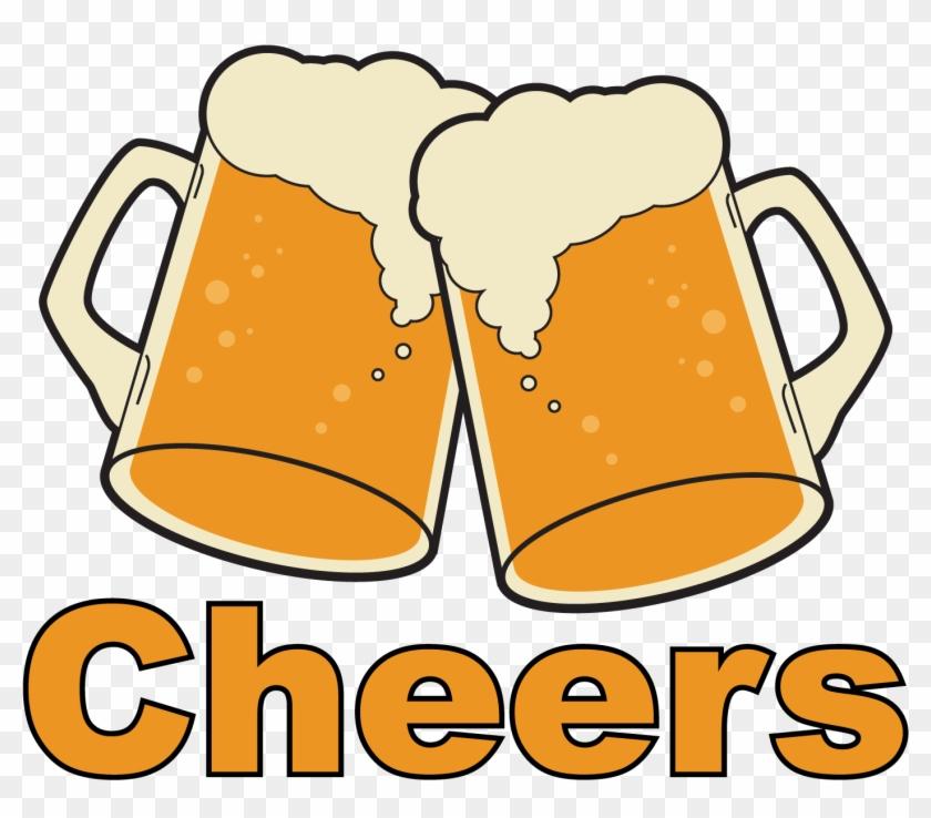 Beer Clipart - Beer Glasses Cheers #158738