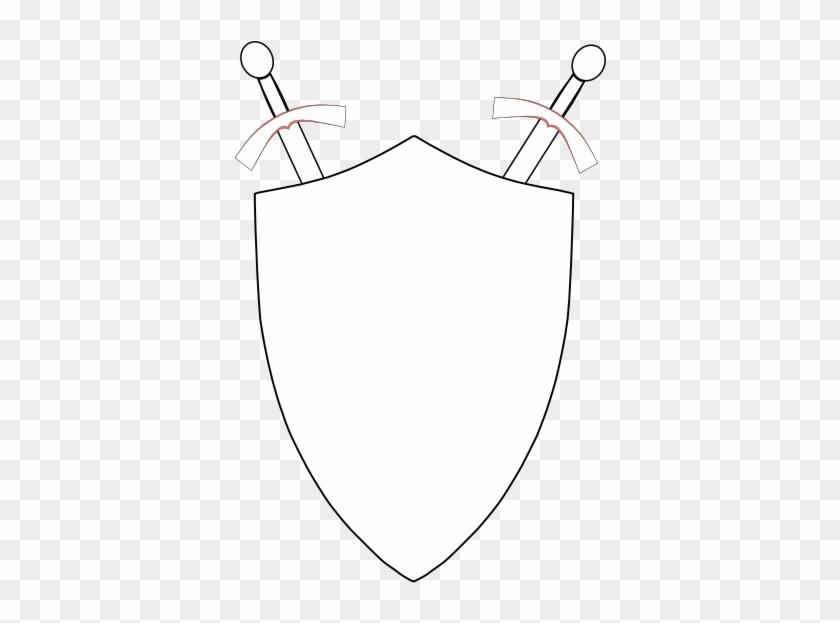 Blank Logo Shield - Drawing #159045