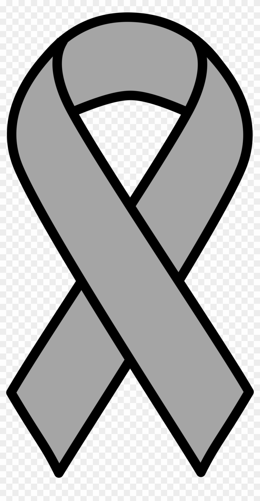Clipart - Gold Cancer Ribbon #159215
