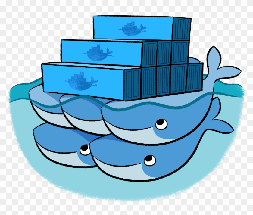 Docker Swarm - Docker Swarm - Free Transparent PNG Clipart