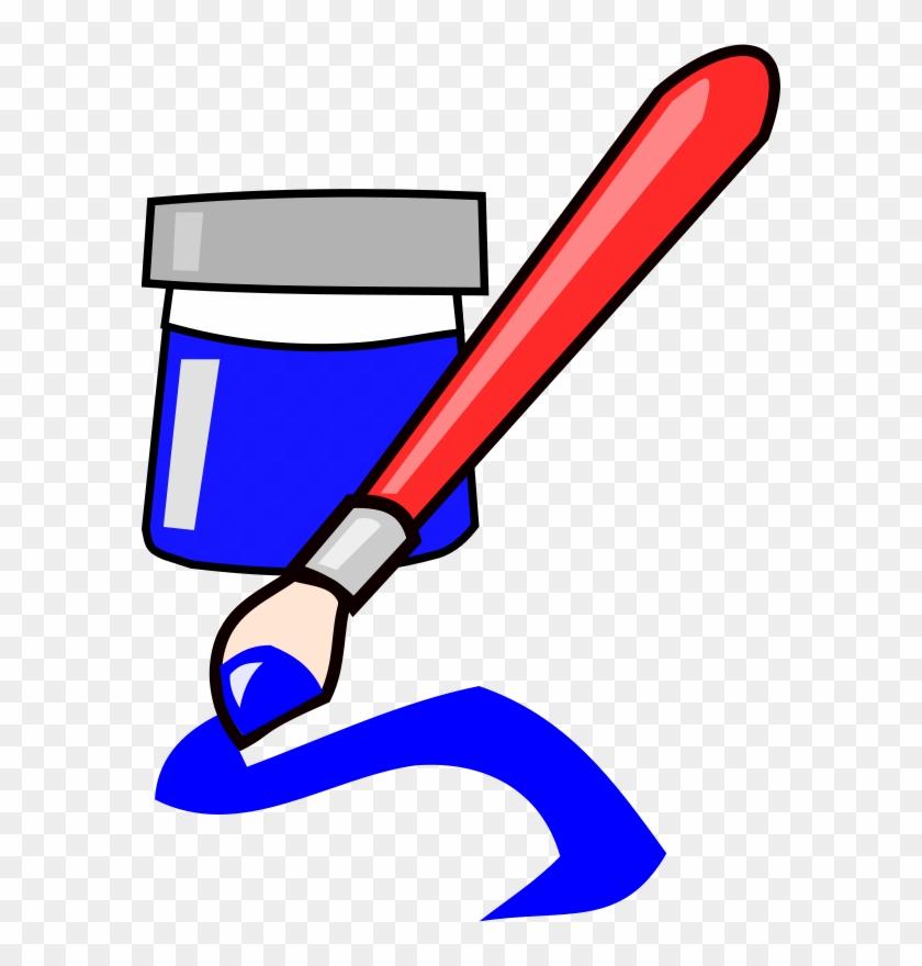 Free Brush - Paint Brush Clip Art #159406