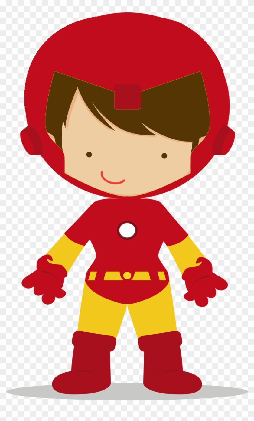 Avengers Babies Clipart - Superheroes Kids Png #159607