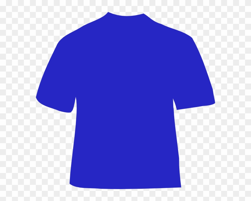 Navy Shirt Cliparts - Navy Blue T Shirt Template #160050