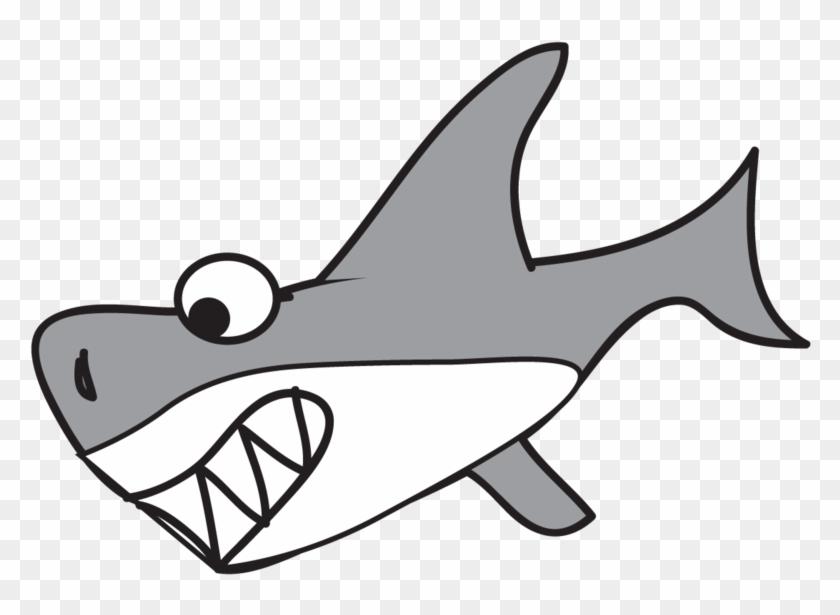 Cartoon Shark Cartoon Great White Shark Free Download - Transparent Cartoon Shark #160354