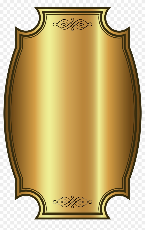 label template gold png clip art image - faixa dourada png banner
