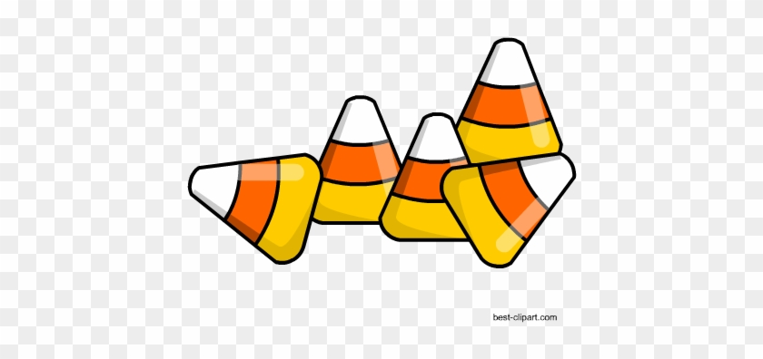 Free Candy Corn Pieces Clipart - Candy Corn #161024