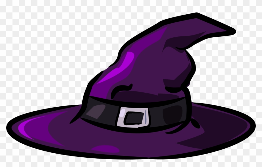 Cute Witch Hat Clipart - Halloween Witches Hat #161104