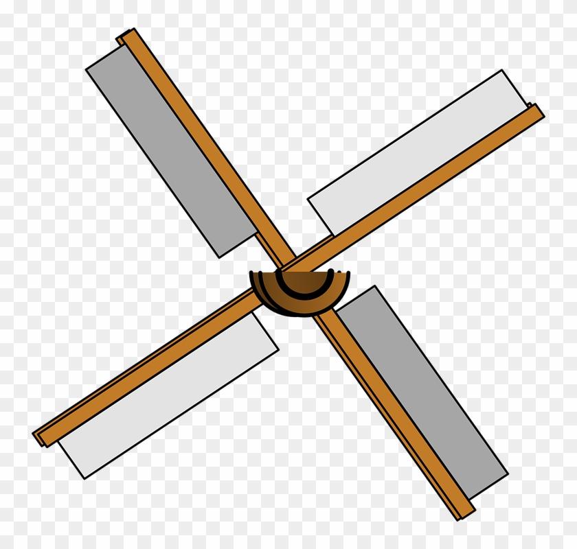 Windmill Blades Isolated Power Energy Wind - Helice De Molino De Viento #161384