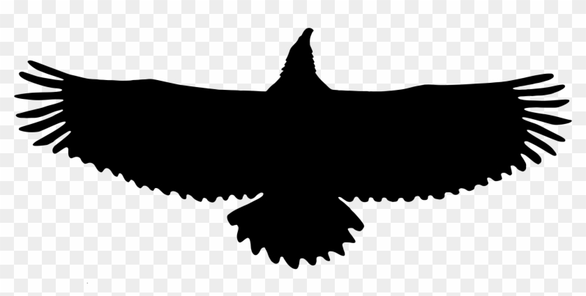 Silhouette Clipart Eagle - Eagle Silhouette Png #161391