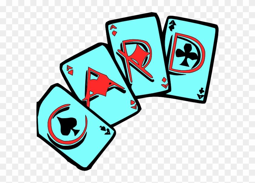 Cards Games Clip Art At Clker Com Vector Clip Art Online - Games & Cards Clip Art #162168