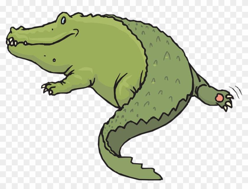 Alligator Clip Art - Alligator Tail Clipart #162574