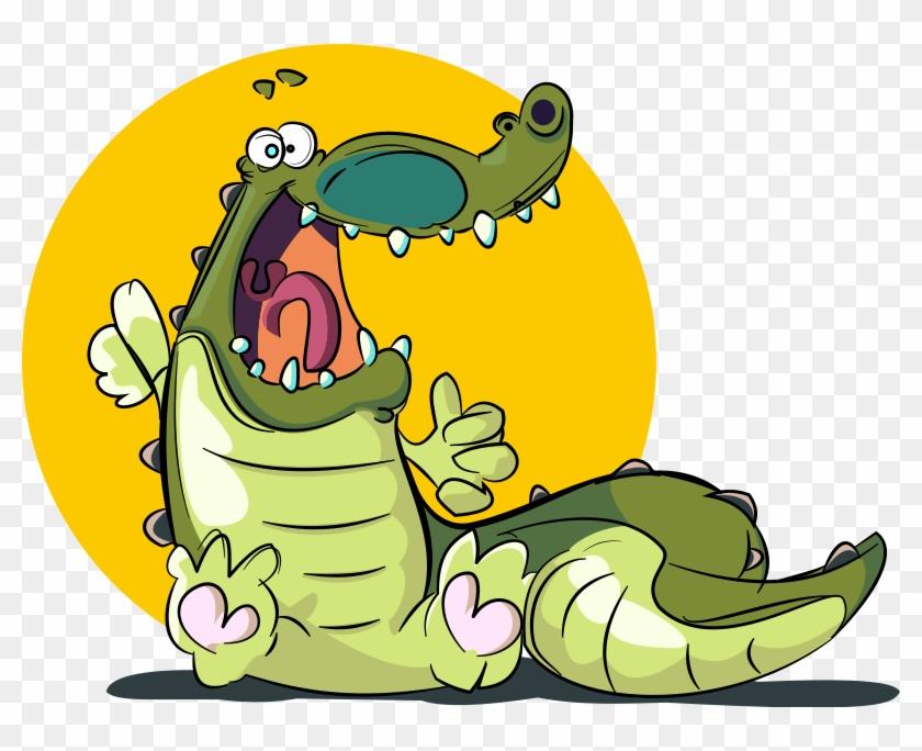 Cute Baby Snake Clipart - Crocodile Cartoon Png #162668