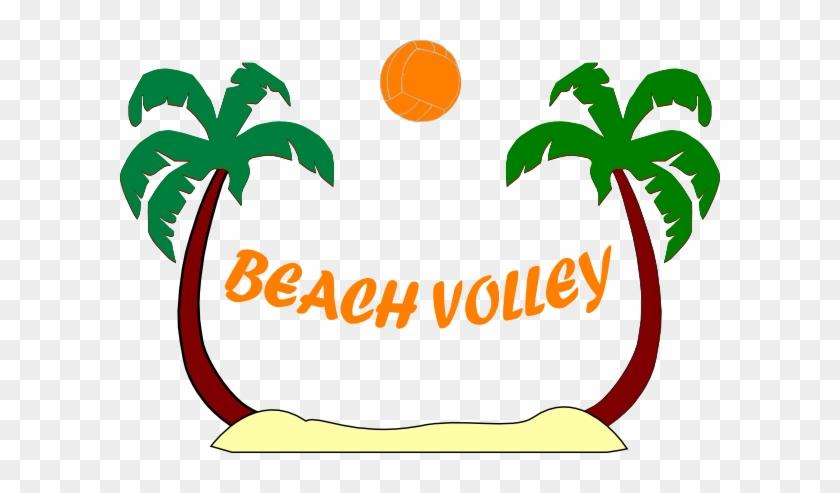 Beach - Volleyball - Clipart - Beach Volleyball Clipart Free #162771