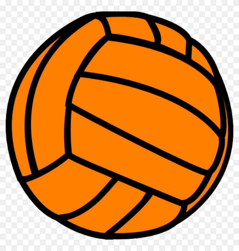 Volleyball Clipart Orange Volleyball Clip Art At Clker - Orange Volleyball Clipart #162778