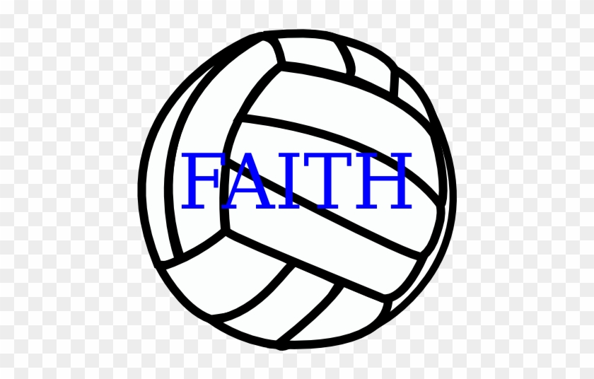 Volleyball Clip Art Vector Online Royalty Free & Public - Love Volleyball Svg #162781