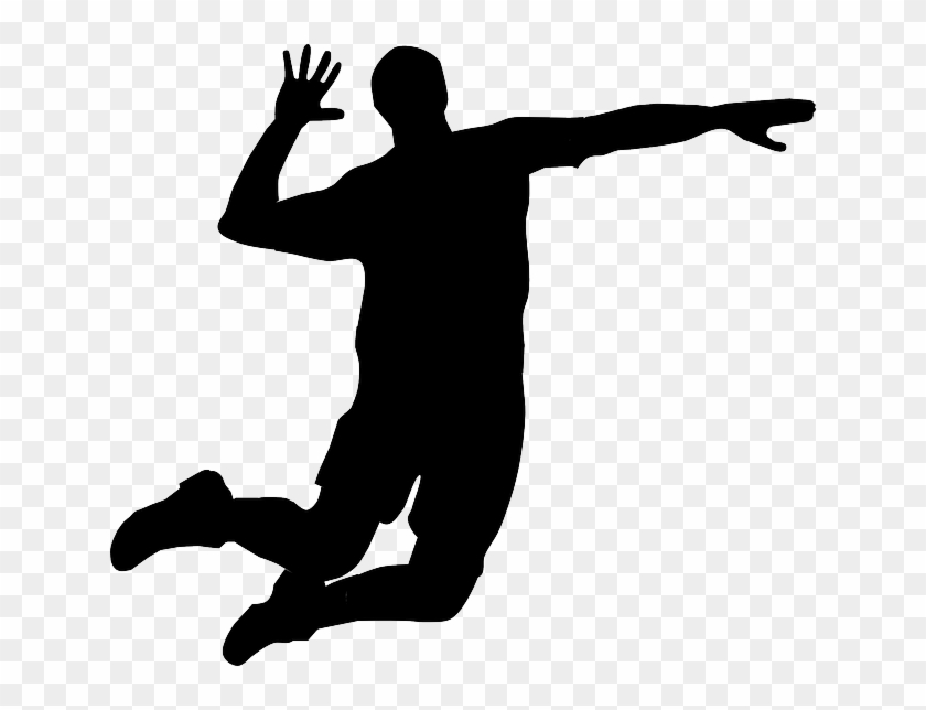 Volleyball Player Vector Png #162811