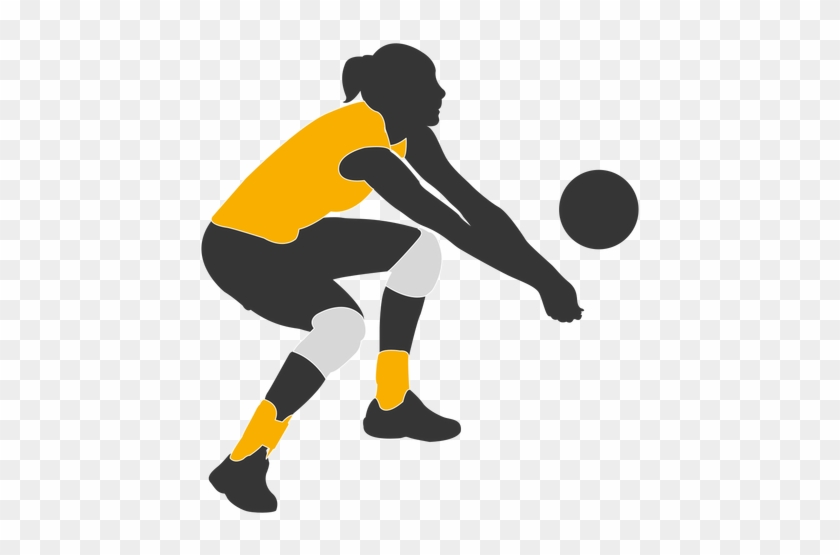 Volleyball Player Png - Volleyball Player Clipart Png #162912