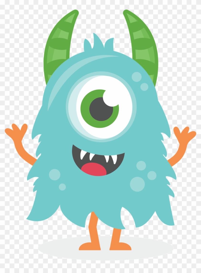 Monster Clipart Cute - Monster Clipart Cute #163401
