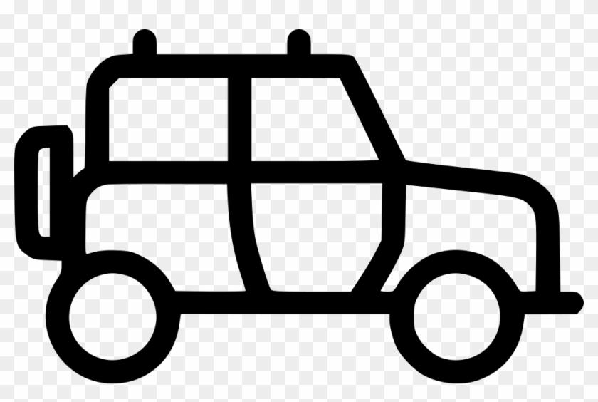 Safari Jeep Comments - Jeep Comanche - Free Transparent PNG Clipart ...