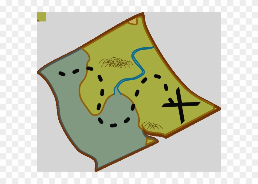 Map Clip Art For Kids Free Clipart Images Clipartcow - Treasure Map Clip Art #862708