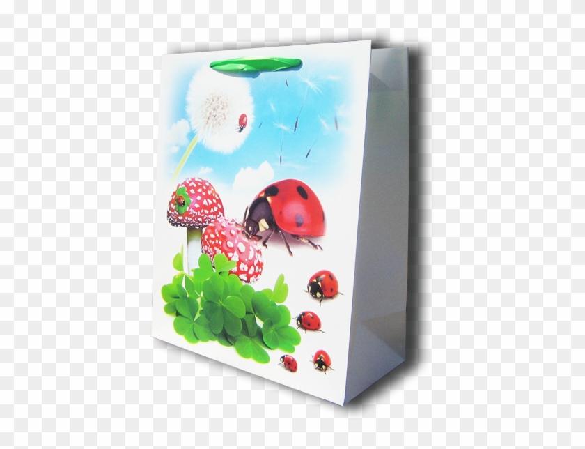 9641 Sacosa P/cadou 26*32*12 - Ladybug #862892