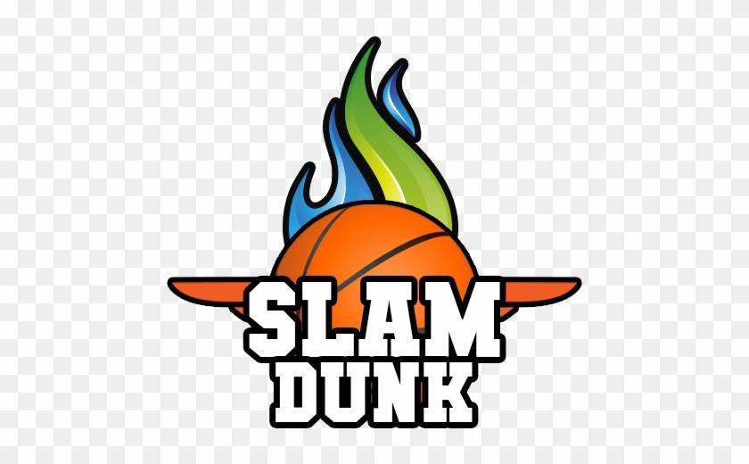 Slam Dunk Clipart - Slam Dunk Basketball Clipart - Free