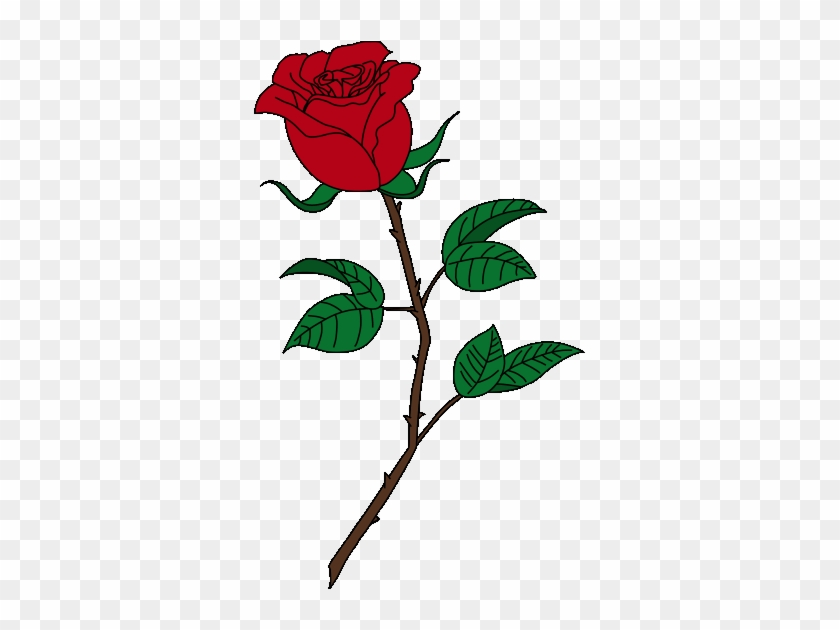 Beauty And The Beast Rose Clipart - Beauty And The Beast Rose Clip Art #863056