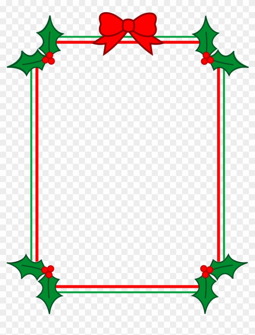 graphic regarding Free Printable Borders and Frames identify Free of charge Printable Xmas Clip Artwork Summer season Clipart - Xmas