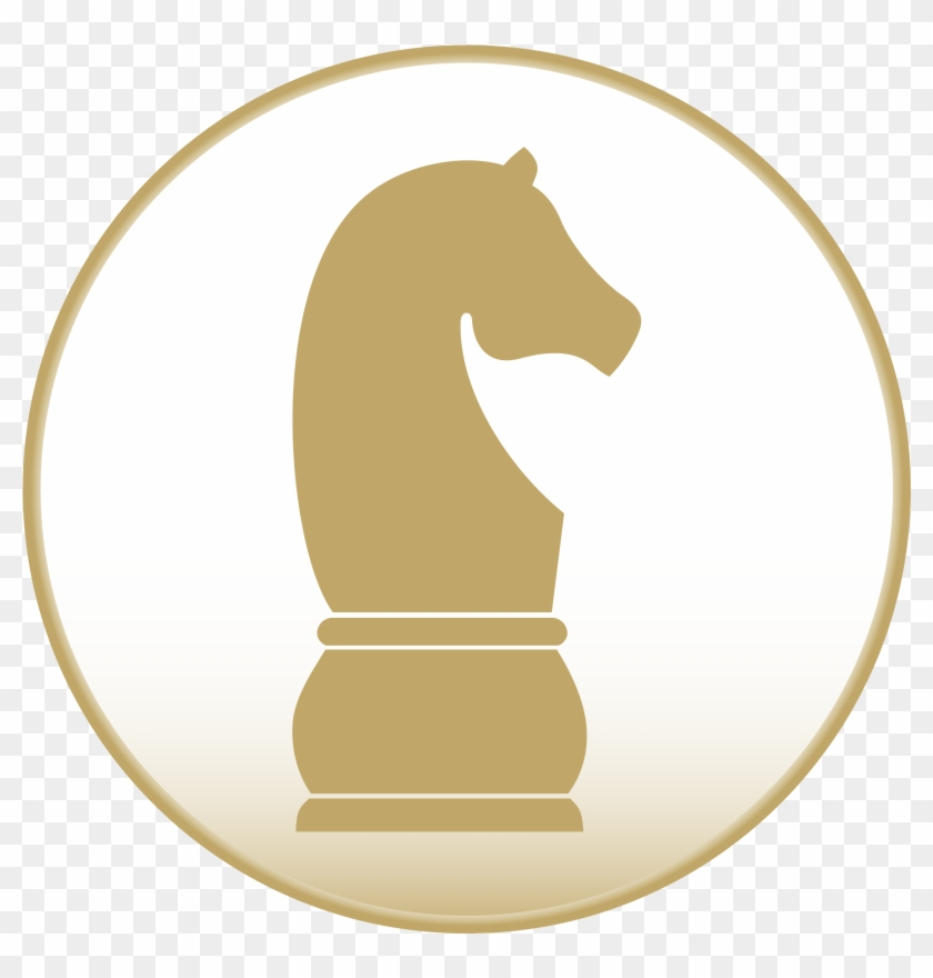 Strategic Consulting - Black Knight Chess Piece Note Cards #863398