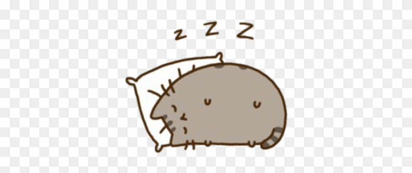 Pusheen Sleeping Gif Free Transparent Png Clipart Images Download