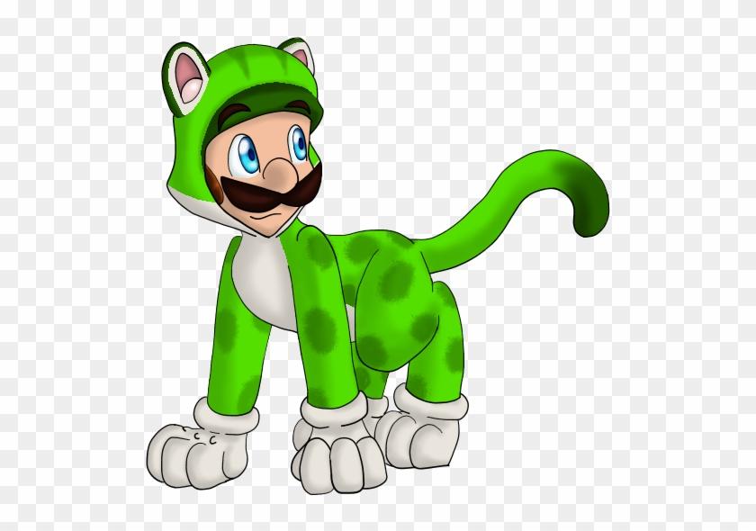 Mario Collab Cat Luigi By Nebulawords Luigi Free