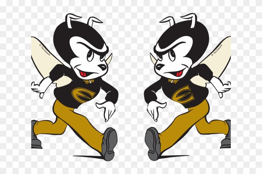 Hornet Mascot Clipart Emporia State Hornets Free Transparent Png