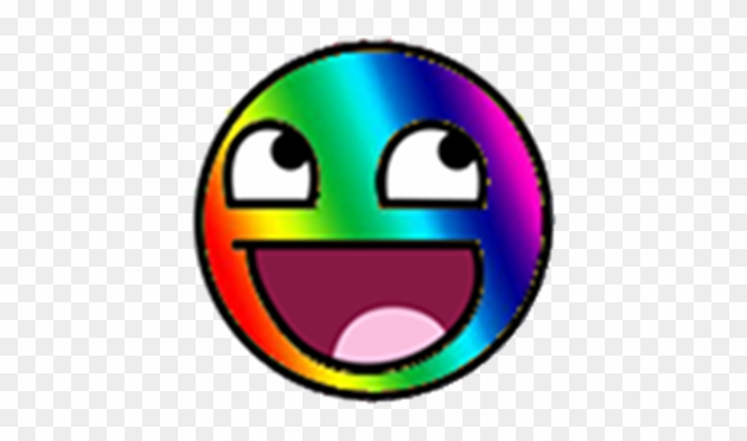 Rainbow Epic Smiley Face Roblox Roblox T Shirt Epic Face Free