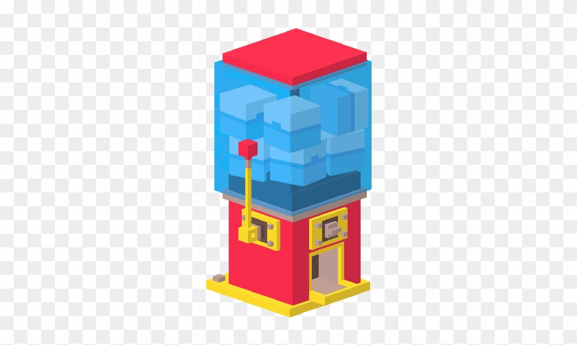 Machine Of Surprises - Crossy Road Prize Machine #865439