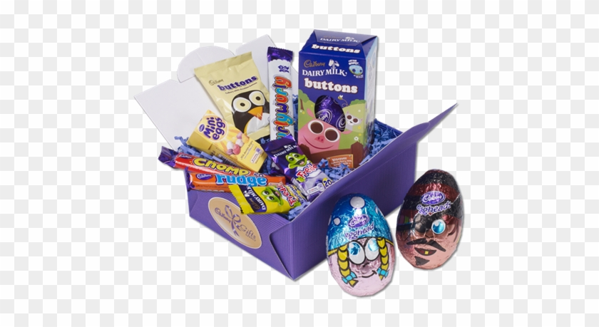 Perfect Kids Easter Hamper From Cadbury - Cadbury Dairy Milk Buttons Medium Egg - 4.5oz (128g) #865689
