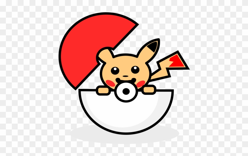 pikachu clipart pokeball pokeball icons free transparent png