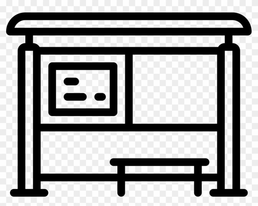Bus Shelters - Bus Shelter Icon Png #866065