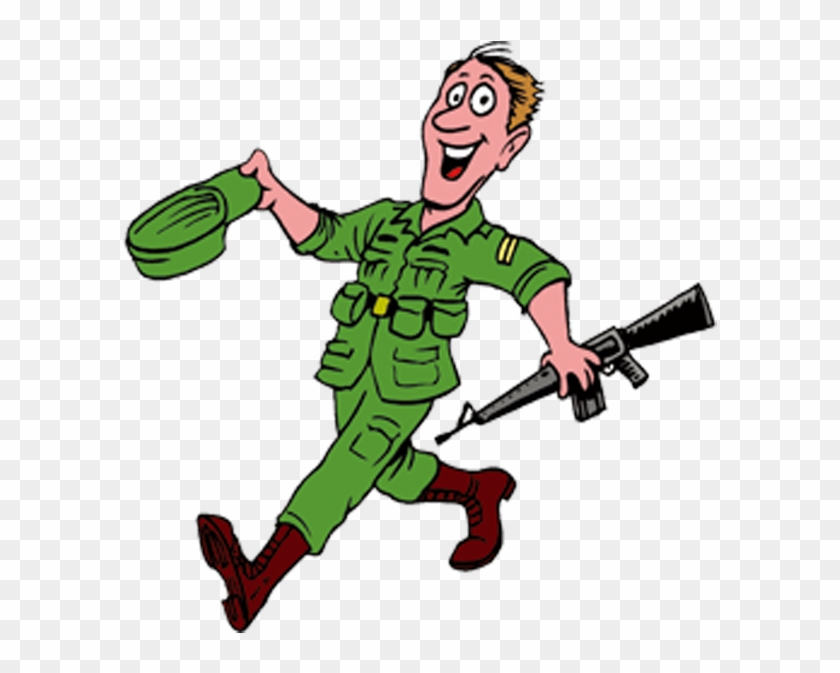 Soldier Cartoon Military Clip Art - Stratiotis - Free