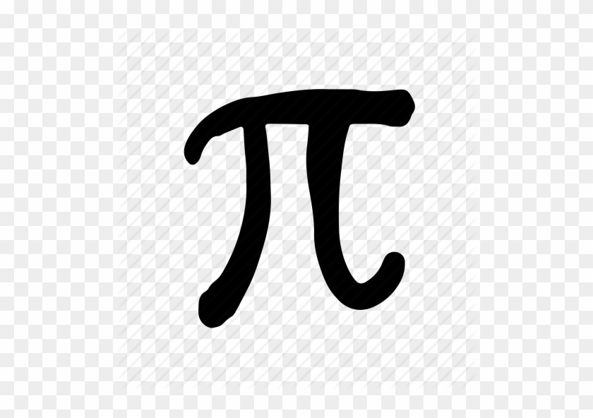 Pi Symbol In Circle Stock Photo Math Hand Drawn Png Free